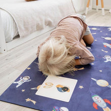 Load image into Gallery viewer, Space Kids Yoga Mat