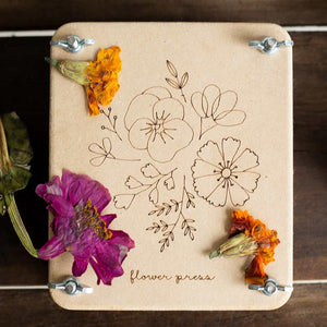 "Flower press ""Posy"" mini"