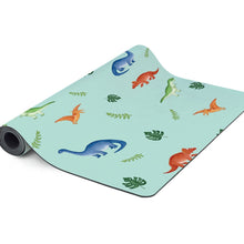 Load image into Gallery viewer, Kids Yoga Mat - Dinosaur