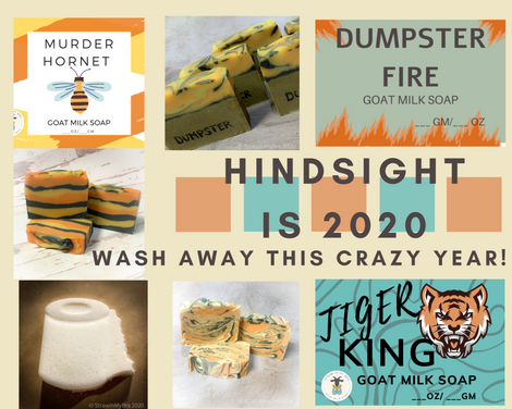 Hindsight is 2020: Wash Away This Crazy Year!