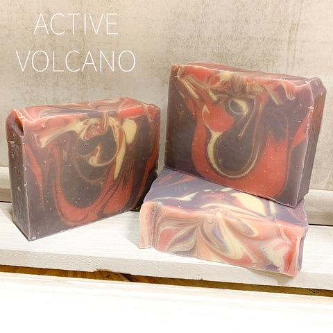 Active Volcano Goat Milk Soap