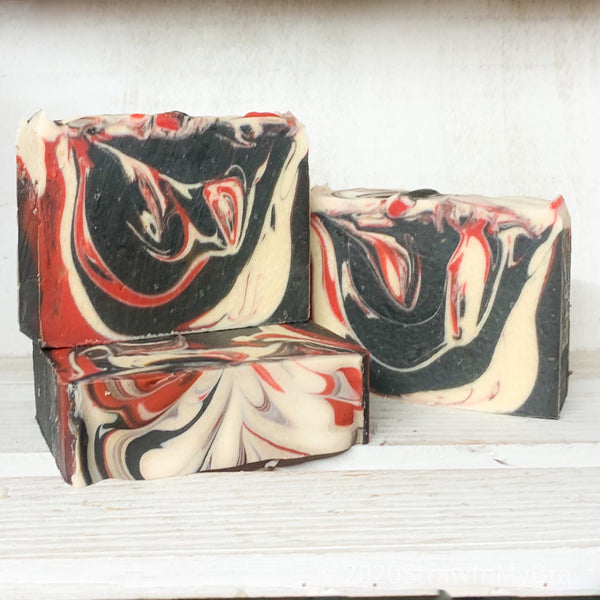 Santa's Nightcap Goat Milk Soap- Holiday Preorder