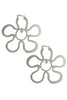 Syd Daisy Hoop Earrings