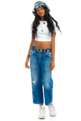 Vintage 90's Wrangler Destroyed Denim Jeans - M/L