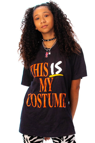 Vintage 80's This Is My Costume! Tee - One Size Fits Many
