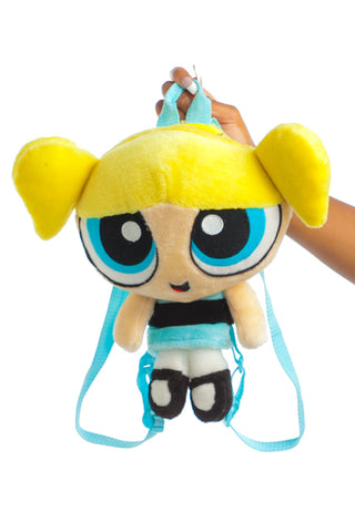 Vintage Y2K Bubbles Powerpuff Girls Plushie Backpack