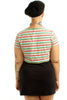 Vintage Renewed A Rose By Any Other Name Crop Top - XL/XXL