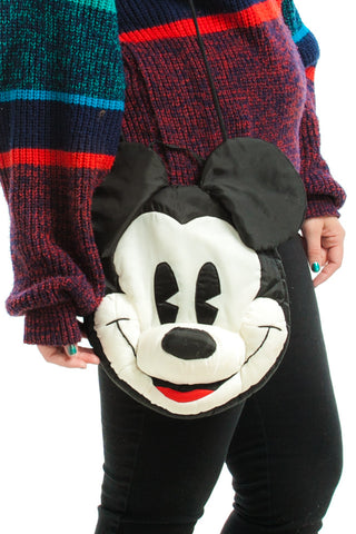 Vintage 90's Y? Because we like you! Mickey Mouse Bag