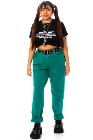 Vintage 90's The Limited Emerald Green Mom Jeans - L