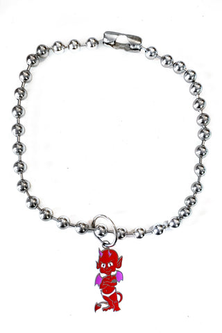 2 Cute 2 B Bad Ball Chain Necklace