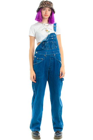 Vintage 90's Fourteen Pocket Overalls - One Size Fits Many