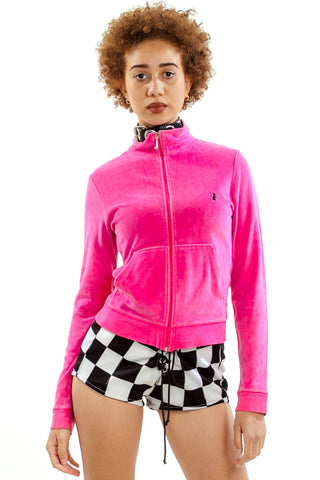 Vintage Y2K Bubblegum Juicy Couture Track Jacket - XS/S/M