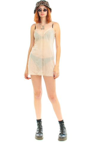 Vintage 70's Vaserette Slip Dress - XS/S