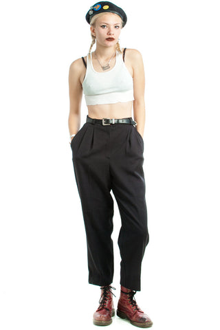 Vintage 90's I Can't See the Chalkboard Trousers - S/M
