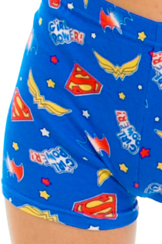 Vintage 90's Girl Power! DC Comic Shorts - XS