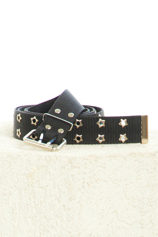 Star Vegan Grommet Belt
