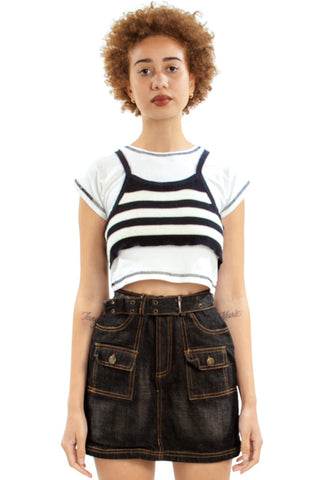 Vintage Y2K Got 2 B Real Denim Skort - XS/S