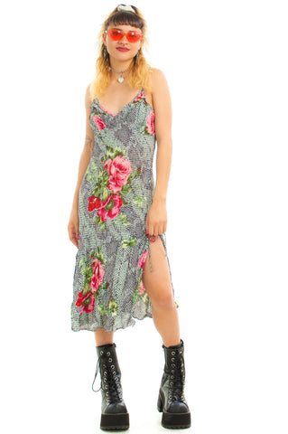 Vintage Y2K Deadstock Serpent in the Rose Fairy Dress - XS/S