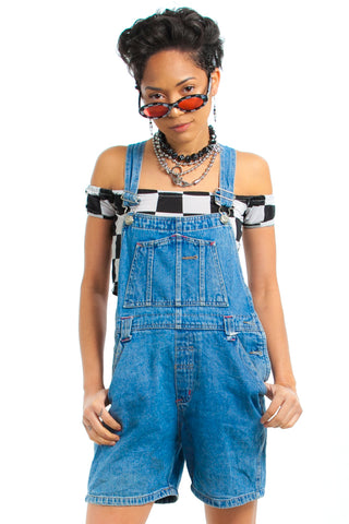 Vintage 90's D-Mode Shortalls - XS