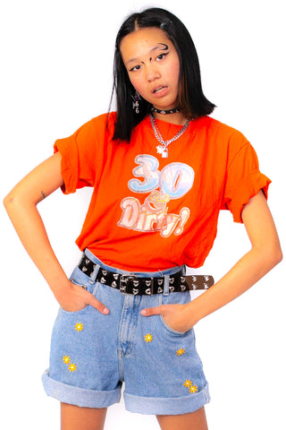 Vintage 80's 30 & Dirty Tee - One Size Fits Many