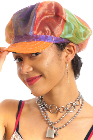 Vintage 90's Sheer Multi Cap