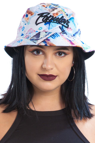 Vintage Y2K Rich & Popular Bucket Hat