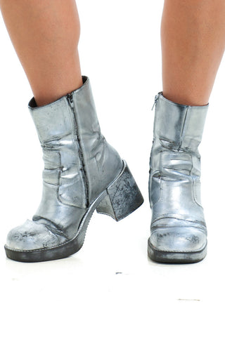 Vintage Renewed 90's Ziggy Stardust Boots - US 9.5
