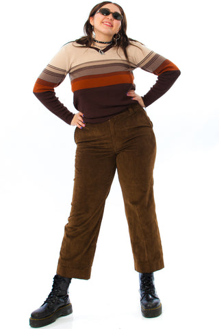 Vintage 90's Brownie Points Corduroy Trousers - XL/2X
