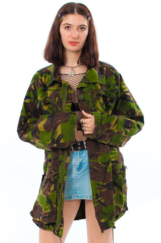 Vintage Y2K Army Surplus Anorak - One Size Fits Many