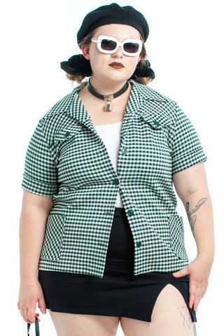 Vintage 70's Ghost World Button-Up - XL