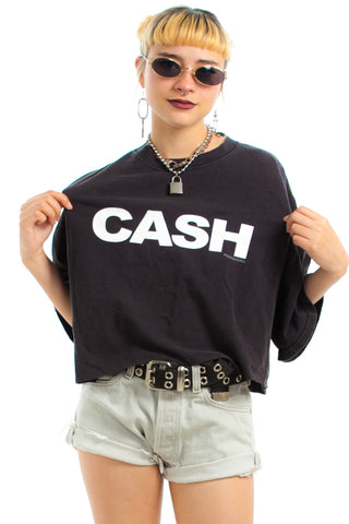 Vintage 2004 Man in Black Cash Tee - One Size Fits Many