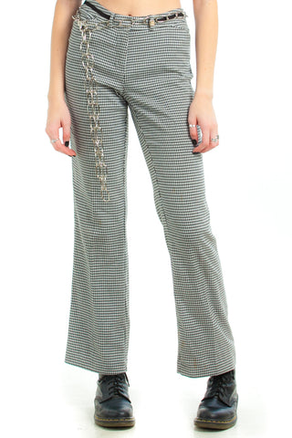 Vintage 90's Anne Klein Houndstooth Trousers - S