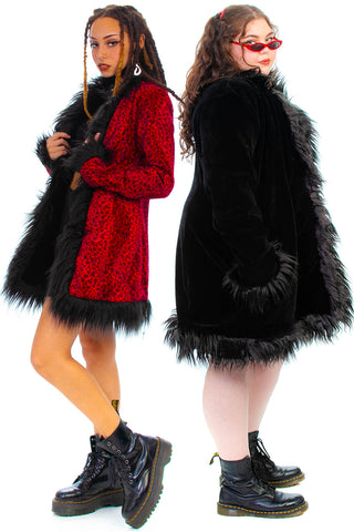 Cleo Reversible Faux Fur Jacket
