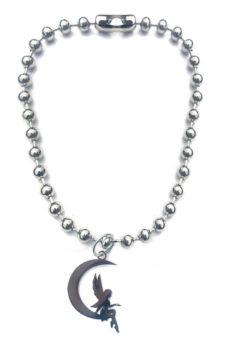 Moonstruck Fairy Ball Chain Necklace