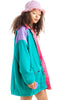Vintage 90's Ultimate Reversible Dream Adult-Kiddo Anorak - One Size Fits Many