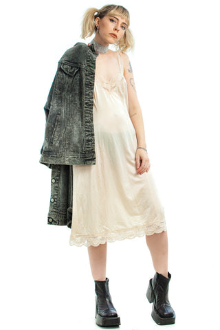 Vintage 90's Am I Kinderwhore/Grunge/Riotgrrl Enough Yet? Slip Dress - XS/S/M