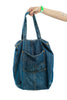 Vintage 90's Denim Tote Bag