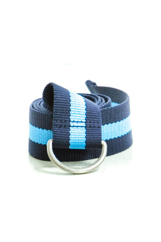 Not-Quite-Vintage Y2K Baby Blue Slide Belt - One Size Fits Many
