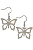 Mini Butterfly Stainless Steel Earrings
