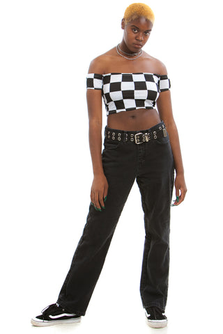 Vintage Y2K Relaxed Fit Mom Jean - M/L