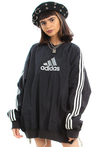 Vintage 90's Adidas Windbreaker Pullover - One Size Fits Many
