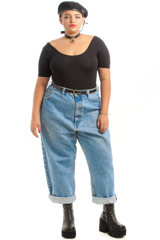Vintage 90's High Waist Relaxed Fit Jeans - 3X/4X