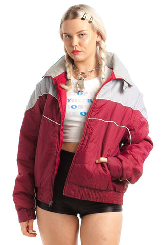 Vintage 80's Lane Meyer Puffy Jacket - L