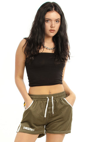 Not-Quite-Vintage Y2K Army Brat Athletic Shorts - XS/S/M