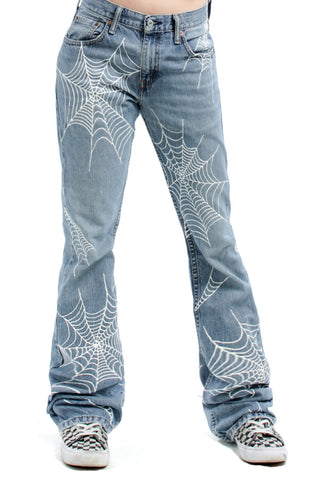 Vintage Renewed Venom Flared Levi's - M