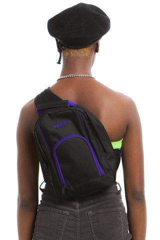 Vintage Y2K Urban Generation One-Strap Mini Backpack