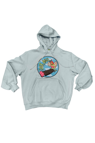 Sour Angel Baby Blue Oversized Hoodie