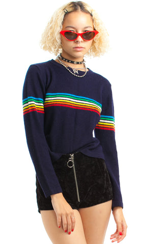 Vintage 80's Essential Vibe Sweater - One Size Fits Many