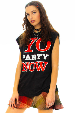 Vintage Y2K Party T-Shirt - XL/2X