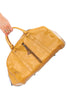 Vintage 70's Hot Z Butterscotch Leather Overnight Bag